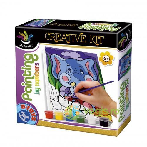 Painting by numbers - Creative kit D TOYS