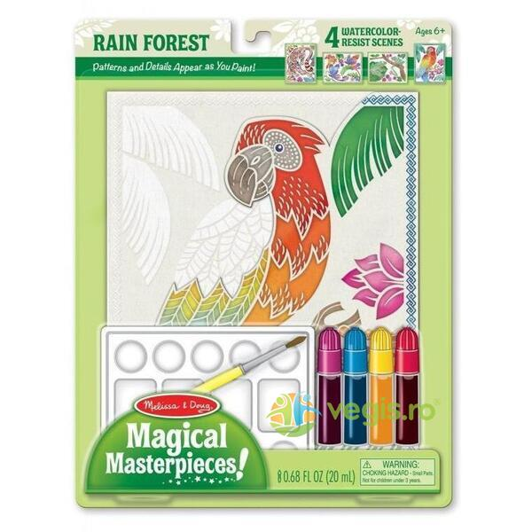 Magical masterpieces! Rain forest. Padurea tropicala MELISSA AND DOUG