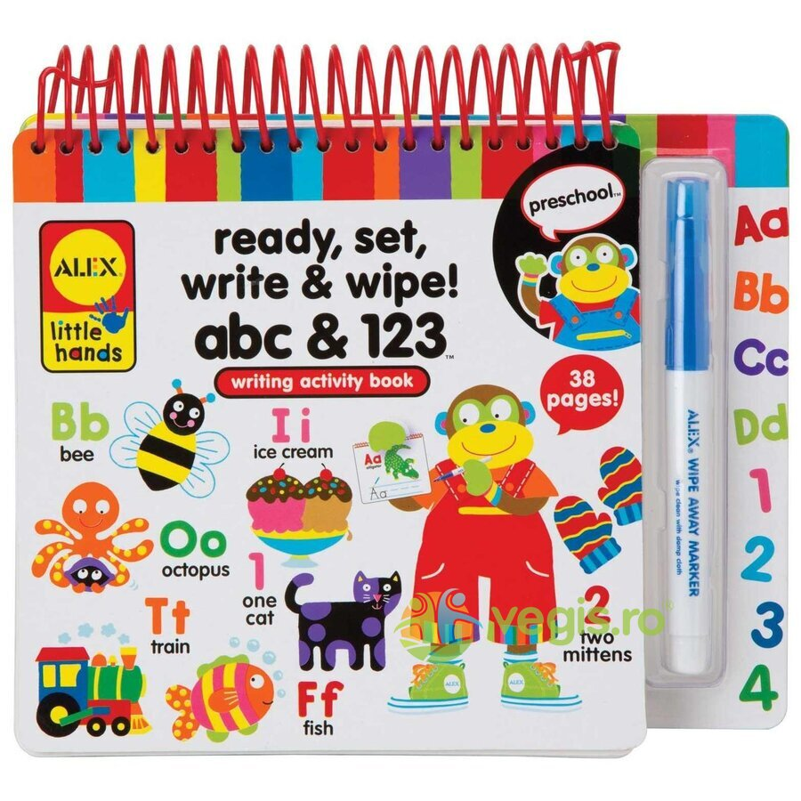 Ready, set, write and wipe! Pe locuri, fiti gata, scrieti!