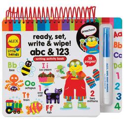 Ready, set, write and wipe! Pe locuri, fiti gata, scrieti! ALEX TOYS