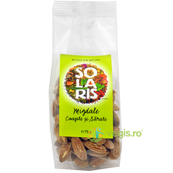 Migdale Coapte si Sarate 75g SOLARIS