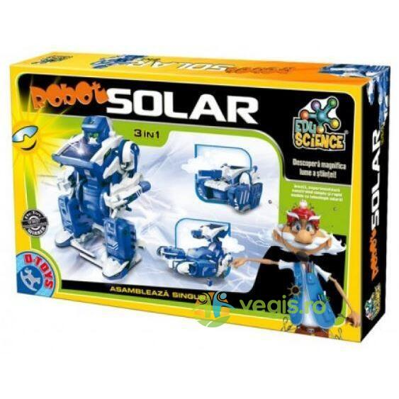 Robot solar 3 in 1 (66756) D TOYS