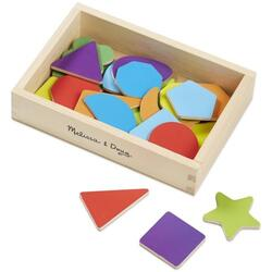 Shape magnets. Forme magnetice din lemn