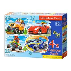 Puzzle Masini. Ride for Fun CASTORLAND
