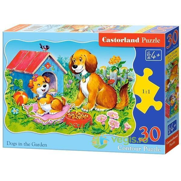 Puzzle 30. Dogs in the Garden CASTORLAND