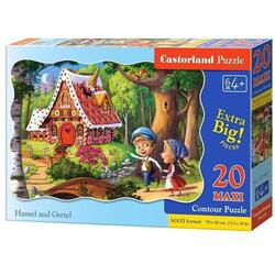 Puzzle 20 Maxi. Hansel And Grettel CASTORLAND