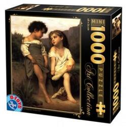 Mini Puzzle 1000, At the edge of the brook D TOYS
