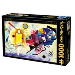 Puzzle 1000 W. Kandinsky - Yellow-Red-Blue D TOYS