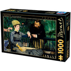 Puzzle 1000 Edouard Manet - In the Conservatory (73068-03) D TOYS