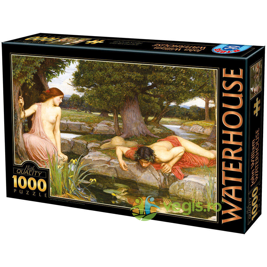 Puzzle 1000 John William Waterhouse - Echo and Narcissus