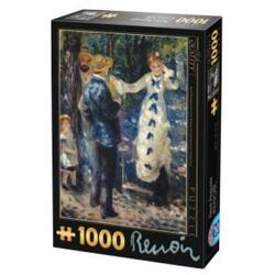 Puzzle 1000 Pierre Auguste Renoir - The Swing D TOYS