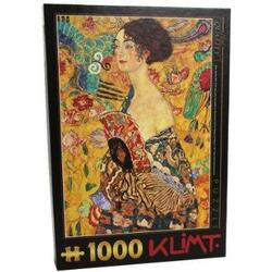 Puzzle 1000 Gustav Klimt - Lady With a Fan (66923-03) D TOYS