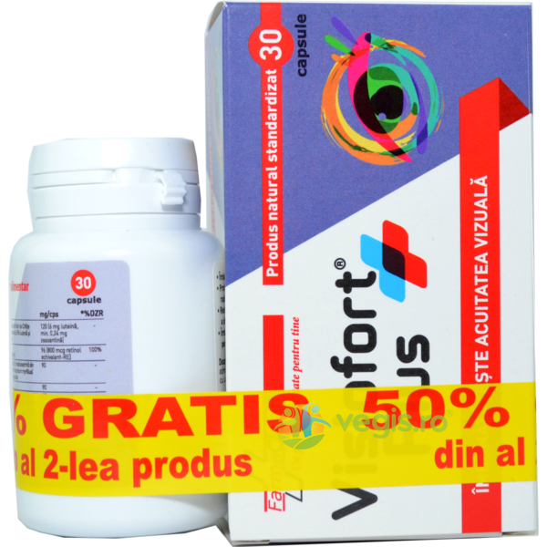Visiofort Plus 30Cps 1+1-50% Gratis FARMACLASS
