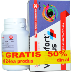 Visiofort Plus 30Cps 1+1-50% Gratis