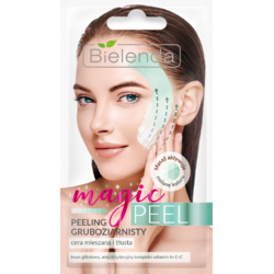 MAGIC PEEL Scrub Grosier Cremos pentru Ten Mixt si Gras 8g BIELENDA
