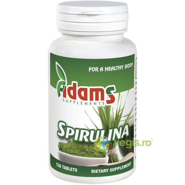 Spirulina 400mg 150cpr ADAMS VISION
