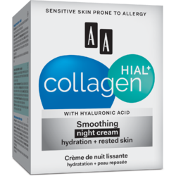 COLLAGEN HIAL+   Crema Calmanta de Noapte (30+) 50ml