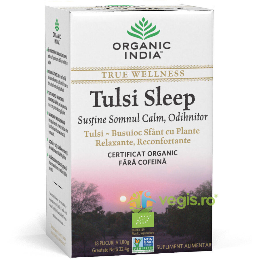 ORGANIC INDIA Ceai Tulsi Sleep Eco/Bio 18pl