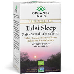 Ceai Tulsi Sleep Eco/Bio 18pl ORGANIC INDIA