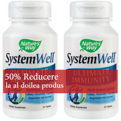 Pachet Systemwell 30cpr 1+1-50% GRATIS NATURE'S  WAY