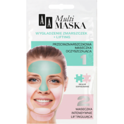 MULTIMASK Masca Antirid 5ml + Masca Lifting 5ml AA COSMETICS