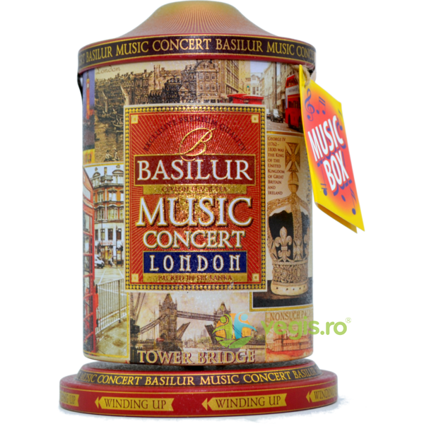 Ceai Music Concert London 100g Basilur Tea