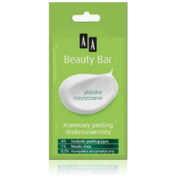 BEAUTY BAR  Scrub Cremos Delicat 8ml AA COSMETICS