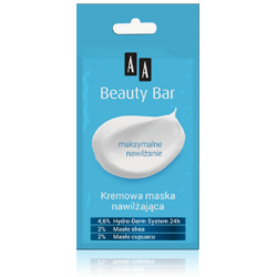 BEAUTY BAR Masca Hidratanta Cremoasa 8ml AA COSMETICS