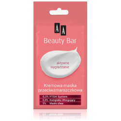 BEAUTY BAR Masca Cremoasa Antirid 8ml AA COSMETICS