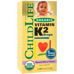 Vitamina K2 Lichida pentru Copii 12ml CHILD LIFE ESSENTIALS