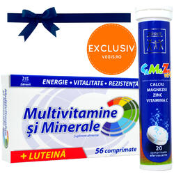 Pachet Multivitamine si Minerale 56cpr+20cpr