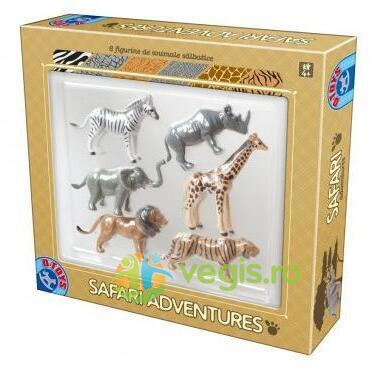 Safari Adventures: 6 Figurine de animale salbatice D TOYS
