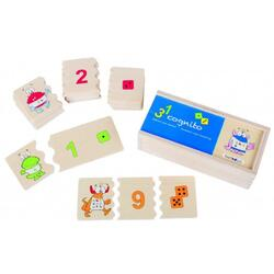 Cognito, Numbers and Counting. Joc puzzle Cognito: Recunoaste Numerele BELEDUC