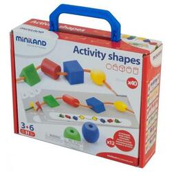 Activity shapes. Activitati educative: Forme geometrice MINILAND