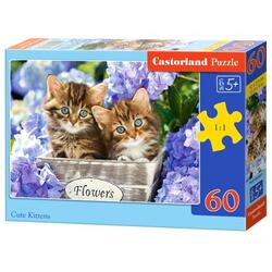 Puzzle 60. Cute Kittens
