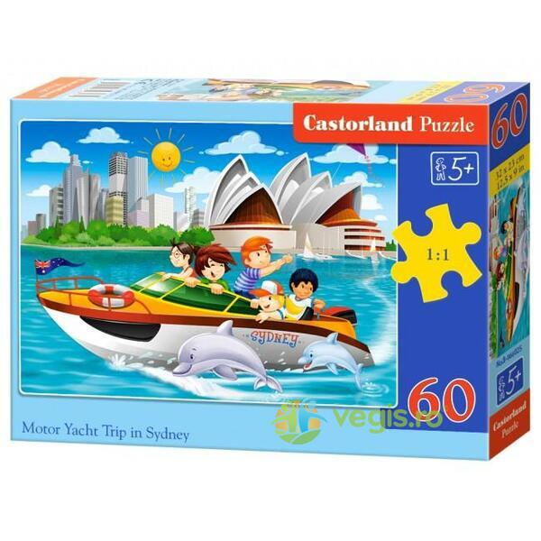 Puzzle 60. Motor Yacht Trip in Sydney CASTORLAND