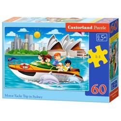 Puzzle 60. Motor Yacht Trip in Sydney