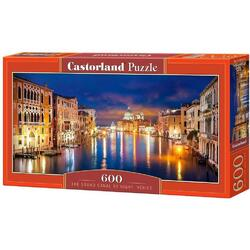 Puzzle 600. The Grand Canal by night, Venice CASTORLAND