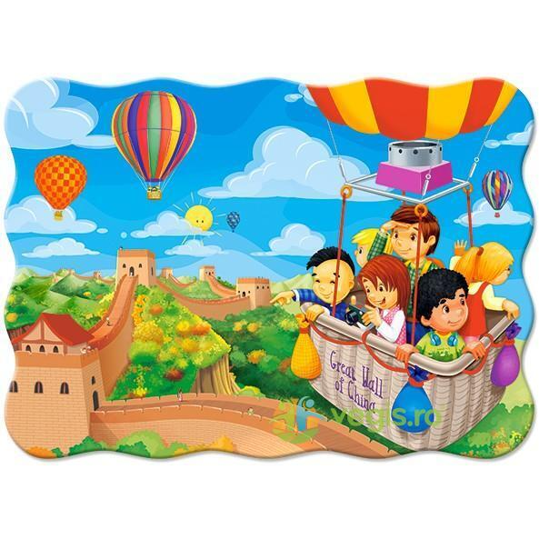 Puzzle 30. Balloon Ride over the Great Wall of China CASTORLAND