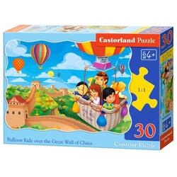 Puzzle 30. Balloon Ride over the Great Wall of China