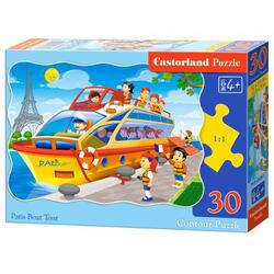 Puzzle 30. Paris Boat Tour