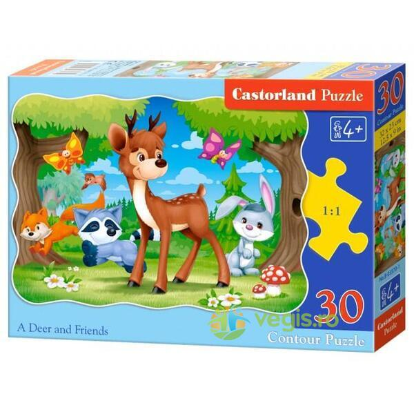 Puzzle 30. A Deer and Friends CASTORLAND