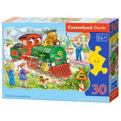 Puzzle 30. Green Locomotive
