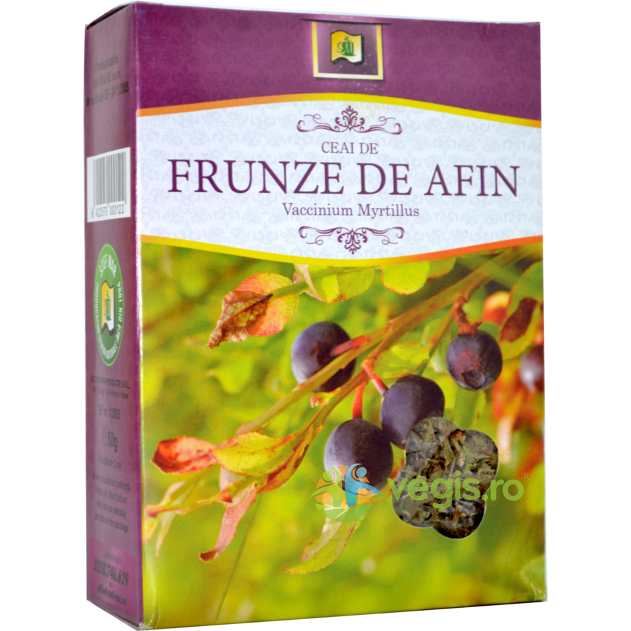 Ceai Afine Frunze 50gr imagine produs 2021