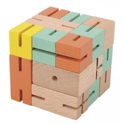 Joc logic 3D puzzle: Boy verde FRIDOLIN