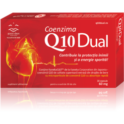 Coenzima Q10 Dual 30cps GOOD DAYS THERAPY