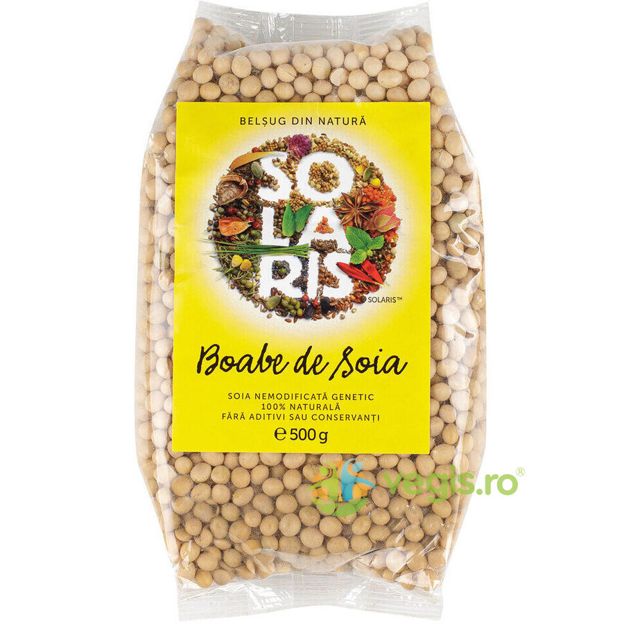 Soia Boabe Nemodificata Genetic 500gr