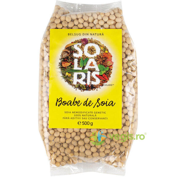 Soia Boabe Nemodificata Genetic 500gr SOLARIS