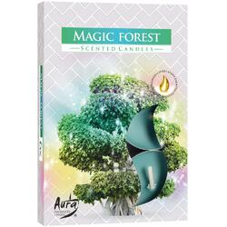 Set Lumanari Tip Pastila Aroma Magic Forest 6 buc. BISPOL