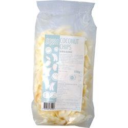 Nuca de Cocos Chipsuri Raw Ecologici/Bio 150g DRAGON SUPERFOODS